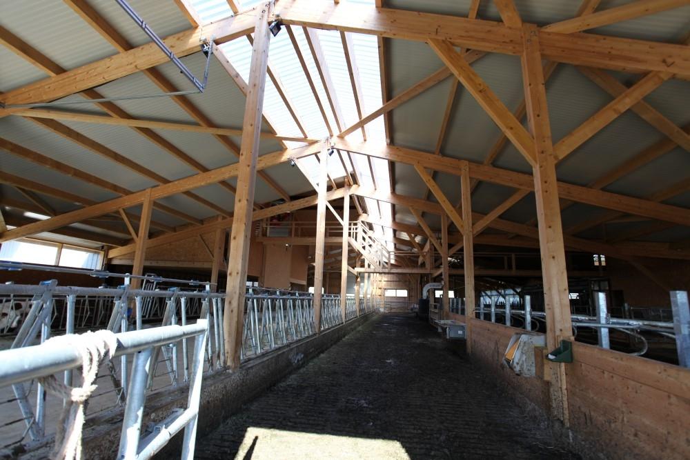 Charpente b timents agricole pontarlier b timent professionnel doubs jura - Constructeur de hangar agricole ...